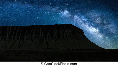 A 4K Night lapse of the iconic Benbulbin mountain in County...
