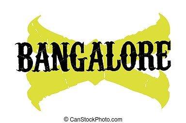 BANGALORE sticker stamp - BANGALORE sticker. Authentic...