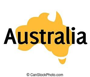 AUSTRALIA sticker stamp - AUSTRALIA sticker. Authentic...