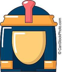 Cleopatra icon, cartoon style - Cleopatra icon. Cartoon...
