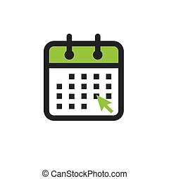 Time management and Schedule icon for upcoming event -...