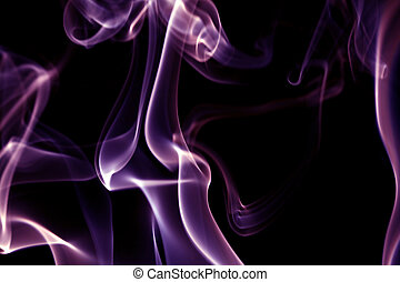 purple smoke abstract background close up