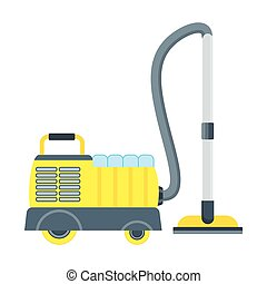 vacuum cleaner for hotels - Vacuum cleaner vector icon...