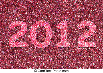 the year 2012 - Number depicting the year 2012