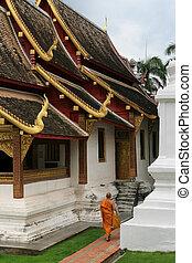 Laos Monk