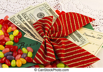 Holiday Bonus In Cash and Check