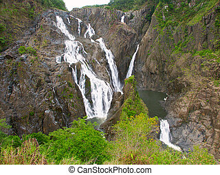 Barron Falls - Queensland,Australia - Barron Falls in Barron...
