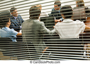 Interacting group
