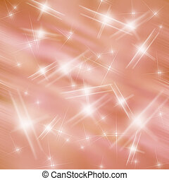 Abstract blur light and star background