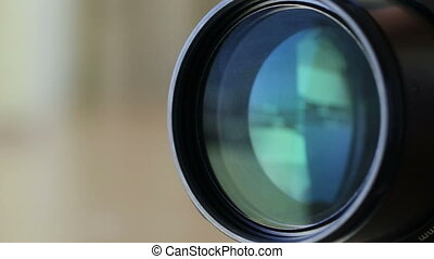 Zooming the lens when shooting with camera. - Zooming the...