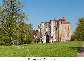 Cathedral and Abbey Church of Saint Alban in St.Albans...