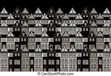Ocean of houses