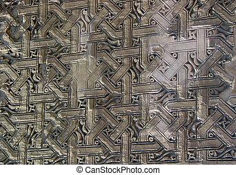 Brick stone works at Caravanserai - Beautiful brick stone...