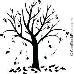 tree of spring illustration