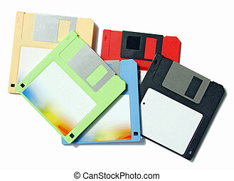 floppy disk - disk for the record of digital information in...