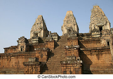 Prae Rup temple in Angkor complex,  Cambodia