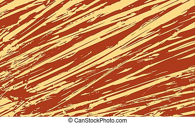Nature Unusual Poster Design - Abstract Color Striped...