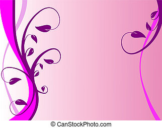 An abstract lilac floral background