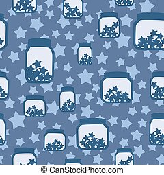 seamless pattern with banks - simple children seamless...