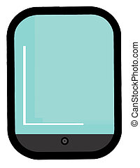 Wide Screen Smart Phone Cartoon Character
