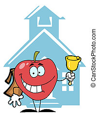 Red Apple Ringing A Bell
