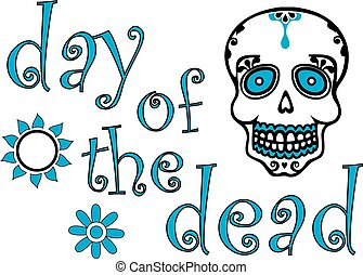 Day of the dead Graphic Color - Day of the dead Graphic