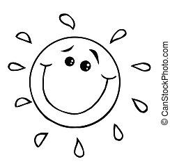 Sun With A Smile