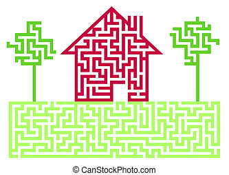 Residential House Labyrinth