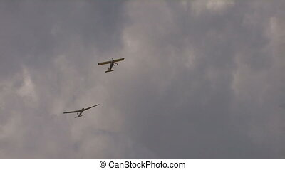 Glider towing plane, Canon XH A1, Full video, 25fps,...