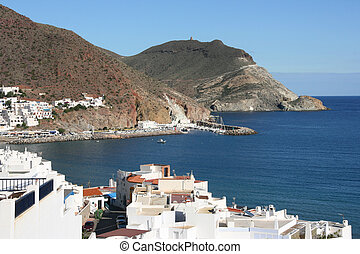 Spain - Andalusia - Beautiful Mediterranean seaside town San...
