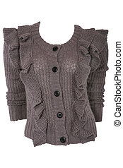 Female woolen sweater - Female knitted woolen sweater...