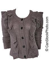 Female woolen sweater