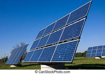 Various solar energy panels