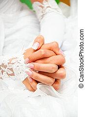 well-groomed skin - well-groomed hand