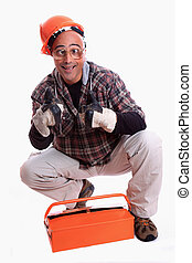 Worker - A contractor holding projects, ready to start...