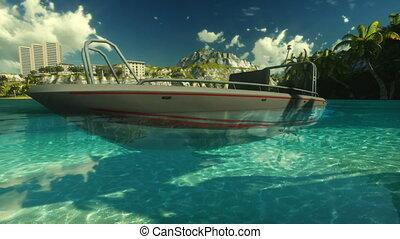 Hawaiian paradise - Hawaiian harbour