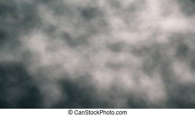 Slow Motion Billowing Clouds Loop 2 - Slow motion looping...