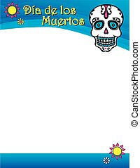 Day of the Dead Poster - Day of the Dead colorful poster...