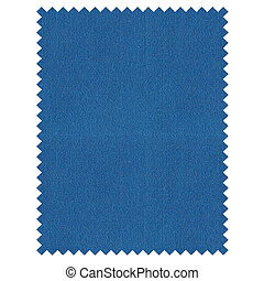 Fabric sample - A fabric sample isolated over white...