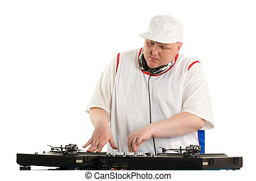 Playing deejay