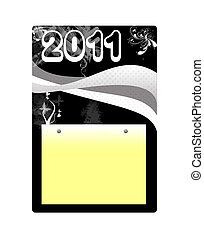 2011 note pad