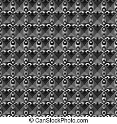 Seamless elegant Art Deco pattern vector geometric...