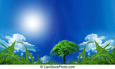 Eco Friendly - Eco background for your design