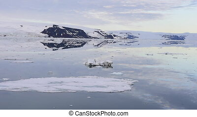 Franz-Josef Land landscape travel on icebreaker