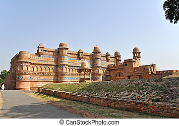 Gwalior Fort - Picture of Gwalior Fort in Madhya Pradesh,...