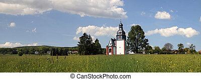 Village church in the Taunus - Village Church in...