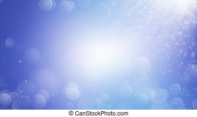 Realistic snow in 4K. Abstract winter background. 3d...