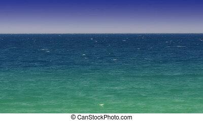 open sea horizon 4k