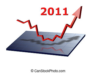 business graph 2011