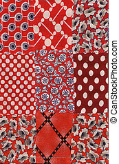 red quilt pattern - my handmade quilt pattern